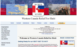 Western Canada Relief for Haiti
